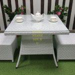 Фото-SUNLINE DESIGN Плетеная мебель Rose 2 white