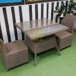 Фото-Sunline Design фабрика плетеная мебель Rose 2 beige