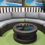 Фото-Galaxy lounge 5 - модульная лаунж зона из искусственного ротанга