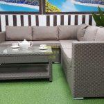 Фото-Мебель из искусственного ротанга Louisiana lounge mocco