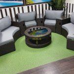 Фото-Мебель на террасу из ротанга Galaxy
