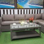 Фото-Плетеная мебель Louisiana corner mocco set