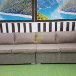 Фото-Плетеный диван Louisiana mocco 4-х местный