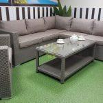 Фото-Ротанг лаунж мебель Louisiana corner mocco set 2