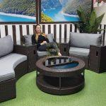 Фото-Ротанг мебель лаунж Galaxy 8