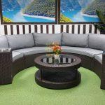 Фото-Ротанг мебель плетеная Galaxy lounge 7