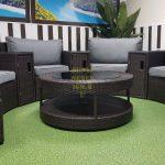 Фото-Садовая мебель из ротанга Galaxy