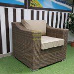 Фото-Glendon плетеное кресло из ротанга