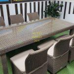 Фото-Infinity & Rose ротанг мебель на террасу