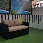 Искусственный ротанг диван Acoustic