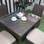 Фото-Мебель из искусственного ротанга Rose royal brown 4