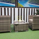 Фото-Мебель плетеная кофейная Barbados Sunlinedesign