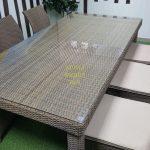 Фото-Обеденный стол плетеный Infinity 200