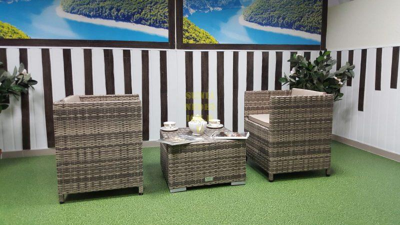 Фото-Плетеная мебель Barbados cafe 2 set