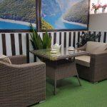 Фото-Плетеная мебель Glendon 2 dining