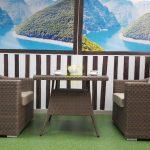Фото-Плетеная мебель Glendon 2 столовая группа