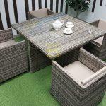 Фото-Плетеная мебель обеденная Barbados