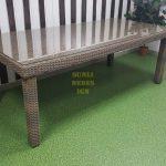 Фото-Стол плетеный Infinity 160х90х75