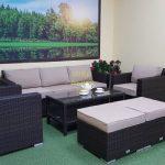 Фото-Acoustic set 3 мебель из искусственного ротанга