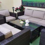 Фото-Лаунж мебель из искусственного ротанга Acoustic lounge