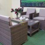 Фото-Мебель из искусственного ротанга Infinity cafe set