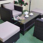 Фото-Мебель из ротанга Acoustic balcony set