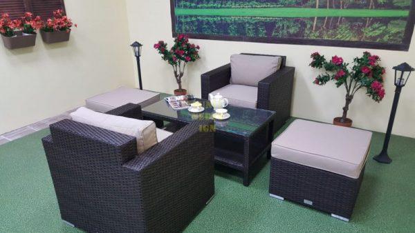 Фото-Плетеная мебель Acoustic balcony set