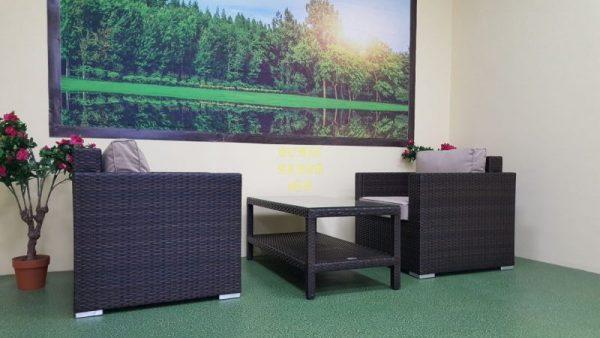 Фото-Плетеная мебель Acoustic cafe set