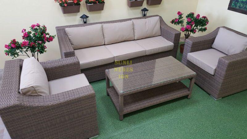 Фото-Плетеная мебель Glendon lounge