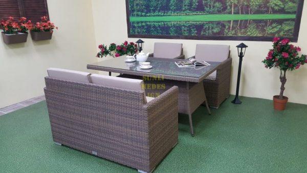 Фото-Плетеная мебель Infinity & Samurai cafe set