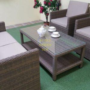 Фото-Плетеная мебель Infinity cafe set