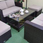 Фото-Плетеная мебель фабрики Sunlinedesign комплект Acoustic set 7