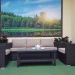 Фото-Ротанг искусственный мебель Acoustic set 4