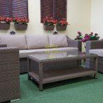 Фото-Садовая мебель из ротанга Glendon lounge
