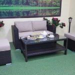 Фото-Садовая плетеная мебель Acoustic 8
