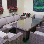 Фото-Столовая Плетеная мебель Glendon royal beige