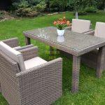 Фото-Садовая мебель из ротанга Infinity 160 cuatro