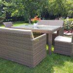 Фото-Садовая мебель из ротанга Infinity & Rose 160 2+2