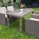 Фото-Садовая плетеная мебель Infinity 160 cuatro