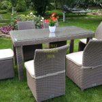Фото-Садовая плетеная мебель Infinity & Rose 160
