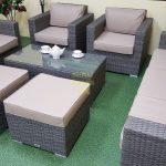 Фото-Allegro natur&beige Комплект плетеной мебели