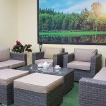 Фото-Allegro natur&beige Садовая мебель из ротанга