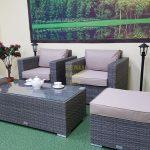 Фото-Плетеная мебель Allegro natur&beige balcony set