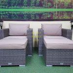Фото-Allegro natur&beige relax комплект мебели ротанг