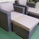 Фото-Allegro natur&beige relax мебель из искусственного ротанга