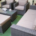 Фото-Искусственный ротанг мебель Allegro natur&beige set 2