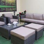 Фото-Allegro natur&beige set 2 Комплект из ротанга для отдыха