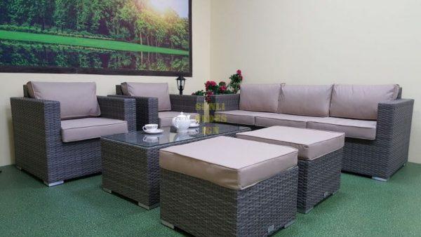Фото-Allegro natur&beige set 2 Плетеная мебель Sunlinedesign