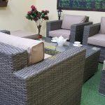 Фото-Комплект плетеной мебели Allegro natur&beige set 3