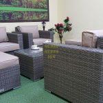 Фото-Allegro natur&beige set 3 Мебель из искусственного ротанга Sunlinedesign